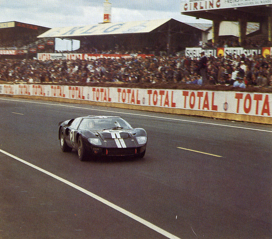 He also won the 24-hour Le Mans, 1966 edition, at the wheel of a Ford GT40.